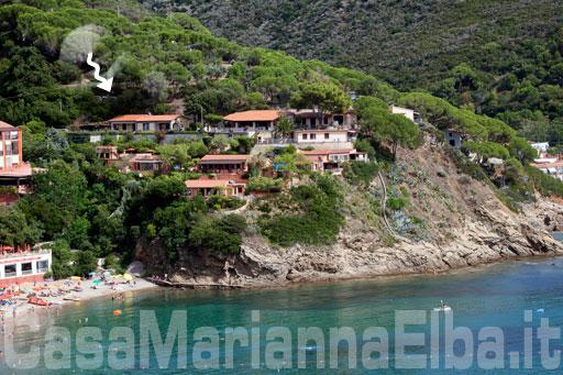 Villa meridiana capoliveri isola d 39 elba for Casa costa costo area della baia